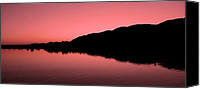 Danube Canvas Prints - The End of the Day ... Canvas Print by Juergen Weiss