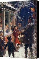 Families Canvas Prints - The Entertainer  Canvas Print by Percy Tarrant