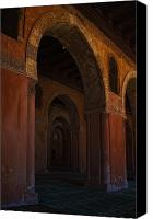 Hall Way Canvas Prints - The Entrance Canvas Print by Mahmoud Hafez