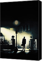 Horror Movies Canvas Prints - The Exorcist, Poster Art, 1973 Canvas Print by Everett