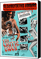 1960s Poster Art Canvas Prints - The Exotic Ones, Aka The Monster And Canvas Print by Everett