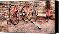 Harpers Ferry Canvas Prints - The Firehouse Canvas Print by JC Findley
