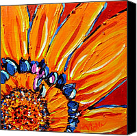 Bold Canvas Prints - The Flower Canvas Print by Vickie Warner