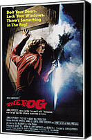1980s Canvas Prints - The Fog, Jamie Lee Curtis, 1980 Canvas Print by Everett