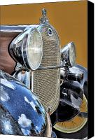 Antique Automobiles Photo Canvas Prints - The Ford Canvas Print by William Jones