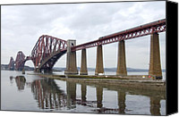 Pillars Canvas Prints - The Forth - Scotland Canvas Print by Mike McGlothlen