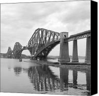 Pillars Canvas Prints - The Forth II Canvas Print by Mike McGlothlen