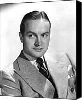 1940s Portraits Canvas Prints - The Ghost Breakers, Bob Hope, 1940 Canvas Print by Everett