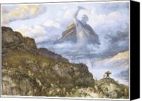 Fantasy Painting Canvas Prints - The God Thor and the Dwarves Canvas Print by Richard Doyle