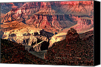 Grand Home Canvas Prints - The Grand Canyon I Canvas Print by Tom Prendergast