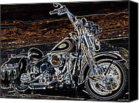 Eric Dee Canvas Prints - The Great American Getaway Canvas Print by Eric Dee