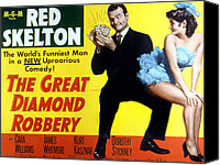 Fid Canvas Prints - The Great Diamond Robbery, Red Skelton Canvas Print by Everett