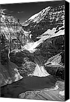 Continental Divide Canvas Prints - The Great Divide bw Canvas Print by Steve Harrington