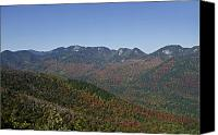 Mountain View Canvas Prints - The Great Range of the Adirondack Mountains - New York Canvas Print by Brendan Reals