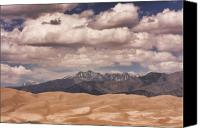 James Insogna Canvas Prints - The Great Sand Dunes 88 Canvas Print by James Bo Insogna