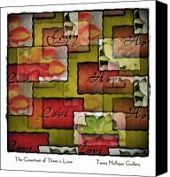 All Canvas Prints - The Greatest of These is Love Canvas Print by Terry Mulligan
