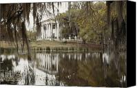 Wetlands Canvas Prints - The Greenwoood Plantation Home Canvas Print by J. Baylor Roberts