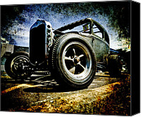 D700 Photo Canvas Prints - The Grunge Rod Canvas Print by Phil