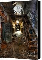Ghosts Canvas Prints - The Hallway of Broken Dreams - Eastern State Penitentiary - Lee Dos Santos Canvas Print by Lee Dos Santos