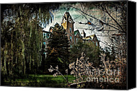 Haunted House Canvas Prints - The Haunt Canvas Print by Jak of Arts Photography