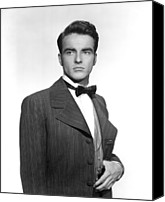 1949 Movies Canvas Prints - The Heiress, Montgomery Clift, 1949 Canvas Print by Everett
