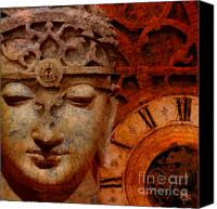 Colorado Artwork Canvas Prints - The Illusion of Time Canvas Print by Christopher Beikmann