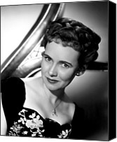 Publicity Shot Canvas Prints - The Imperfect Lady, Teresa Wright, 1947 Canvas Print by Everett