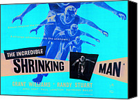 1950s Poster Art Canvas Prints - The Incredible Shrinking Man, Grant Canvas Print by Everett