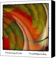 All Canvas Prints - The Intensity of Color Canvas Print by Terry Mulligan