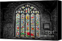 Graveyard Canvas Prints - The Jesse Window  Canvas Print by Adrian Evans