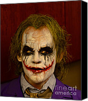 Tv Show Canvas Prints - THE JOKER - Why so serious Canvas Print by Paul Ward