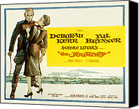 Fid Canvas Prints - The Journey, Yul Brynner, Deborah Kerr Canvas Print by Everett
