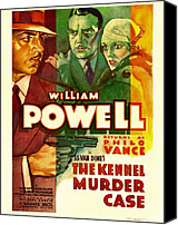Postv Photo Canvas Prints - The Kennel Murder Case, William Powell Canvas Print by Everett