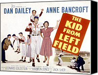 Movie Posters Canvas Prints - The Kid From Left Field, Dan Dailey Canvas Print by Everett