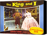 1956 Movies Canvas Prints - The King And I, Yul Brynner, Deborah Canvas Print by Everett