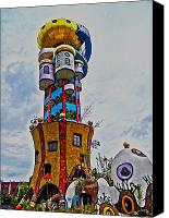 Bayern Canvas Prints - The Kuchlbauer Tower Canvas Print by Juergen Weiss