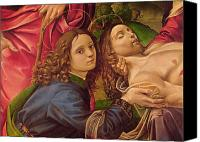 Formerly Canvas Prints - The Lamentation of Christ Canvas Print by Capponi