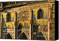 Christian Sacred Canvas Prints - The Last Judgment - St Vitus Cathedral Prague Canvas Print by Christine Till