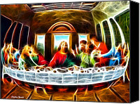 Last Supper Canvas Prints - The Last Supper Canvas Print by Stephen Younts