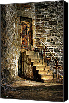 Rusty Door Canvas Prints - The Locked Door Canvas Print by Lois Bryan