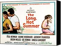 1950s Movies Canvas Prints - The Long, Hot Summer, Joanne Woodward Canvas Print by Everett