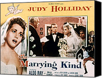 1950s Poster Art Canvas Prints - The Marrying Kind, Aldo Ray, Judy Canvas Print by Everett
