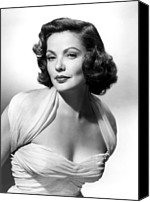 Publicity Shot Canvas Prints - The Mating Season, Gene Tierney Canvas Print by Everett