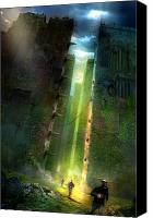 Utherworlds Canvas Prints - The Maze Runner Canvas Print by Philip Straub