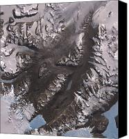Land Feature Canvas Prints - The Mcmurdo Dry Valleys West Of Mcmurdo Canvas Print by Stocktrek Images