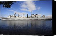 Warship Canvas Prints - The Military Sealift Command Fast Canvas Print by Stocktrek Images