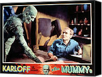 Horror Fantasy Movies Canvas Prints - The Mummy, Boris Karloff, Bramwell Canvas Print by Everett