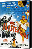 1959 Movies Canvas Prints - The Mysterians, 1959 Canvas Print by Everett