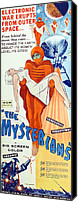 Insert Poster Canvas Prints - The Mysterians, Insert Poster Art, 1957 Canvas Print by Everett