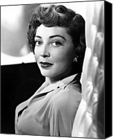 1950s Movies Canvas Prints - The Narrow Margin, Marie Windsor, 1952 Canvas Print by Everett